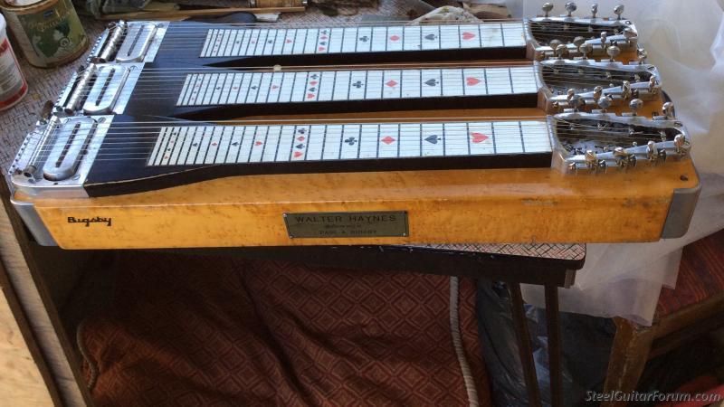 1949 bigsby steel guitar walter haynes 39 the steel guitar forum. Black Bedroom Furniture Sets. Home Design Ideas