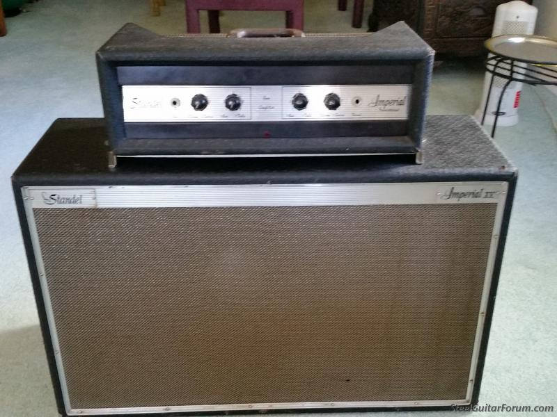 vintage standel imperial xv guitar bass amp the steel guitar forum. Black Bedroom Furniture Sets. Home Design Ideas