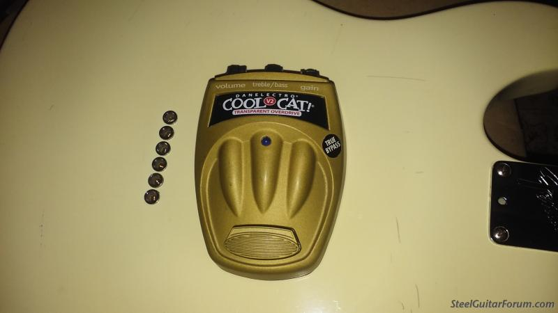 Danalectro Cool cat Transparent overdrive : The Steel Guitar