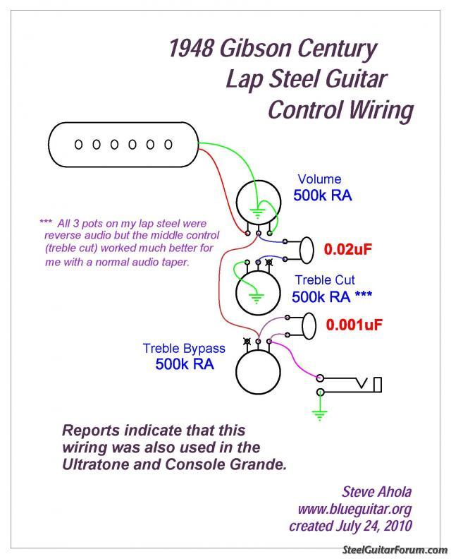gibson explorer guitar wiring diagrams the steel guitar forum :: view topic - 1961 rickenbacker cw-6 #3