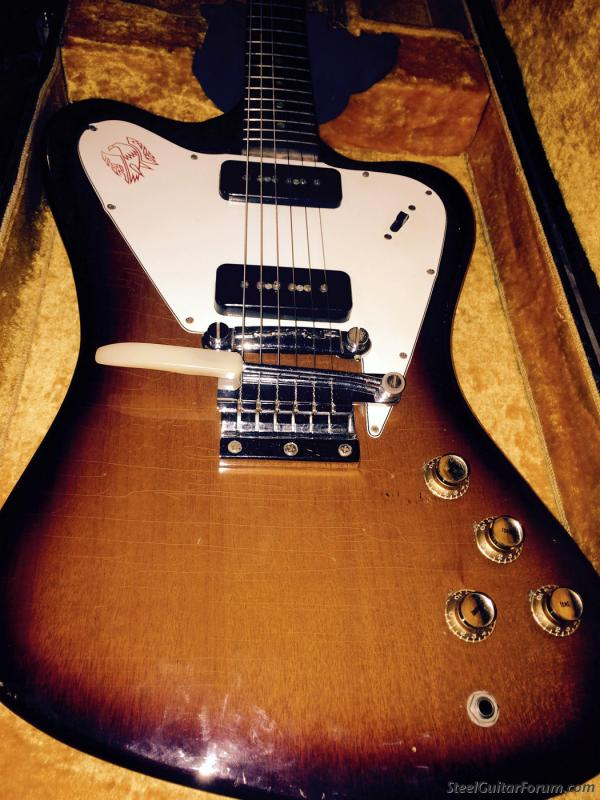 Sold - '65 Gibson Firebird I Non-Reverse Dot Neck | The Gear Page