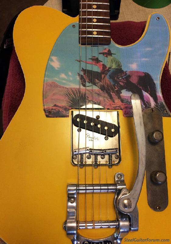 Custom tele pickguards : The Steel Guitar Forum