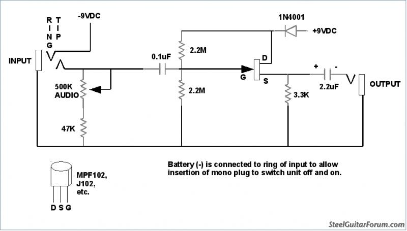 Homebrew Variable Load Buffer   The Steel Guitar Forum