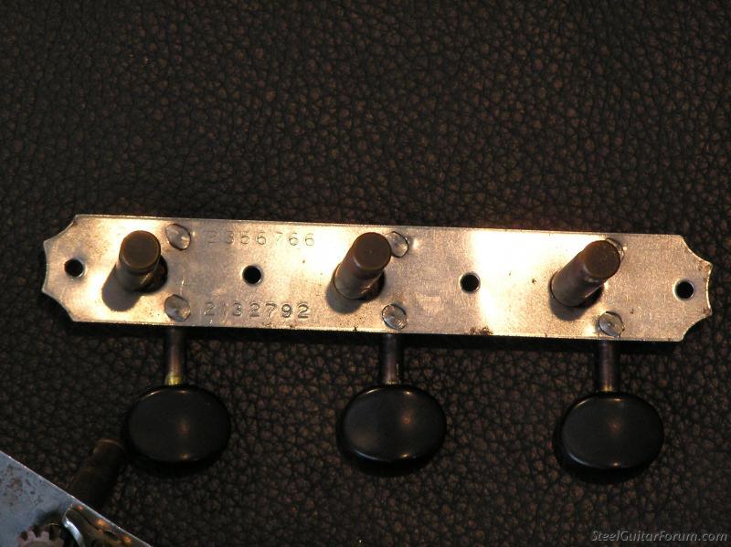 vintage kluson tuners bushings screws for sale the steel guitar forum. Black Bedroom Furniture Sets. Home Design Ideas