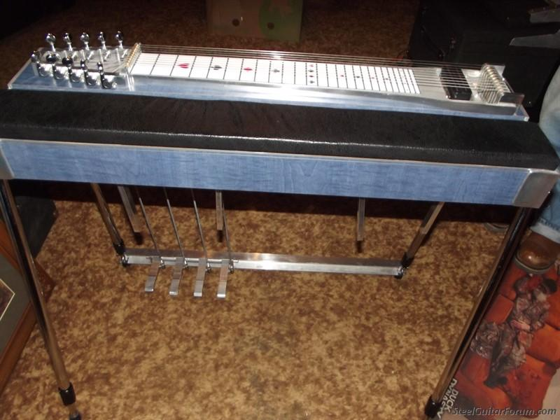 pedal steel guitar instruction