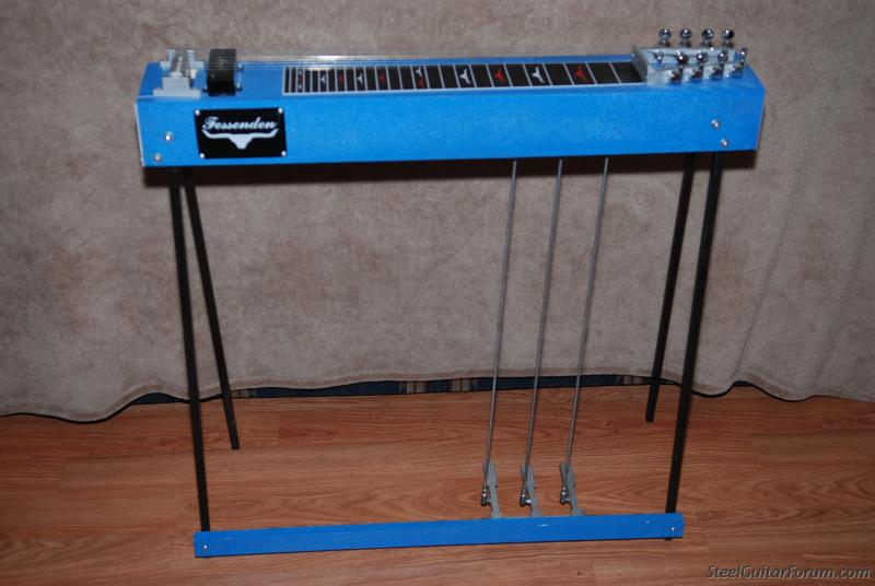 fessenden 8 string 3 pedal steel guitar shipping the steel guitar forum. Black Bedroom Furniture Sets. Home Design Ideas