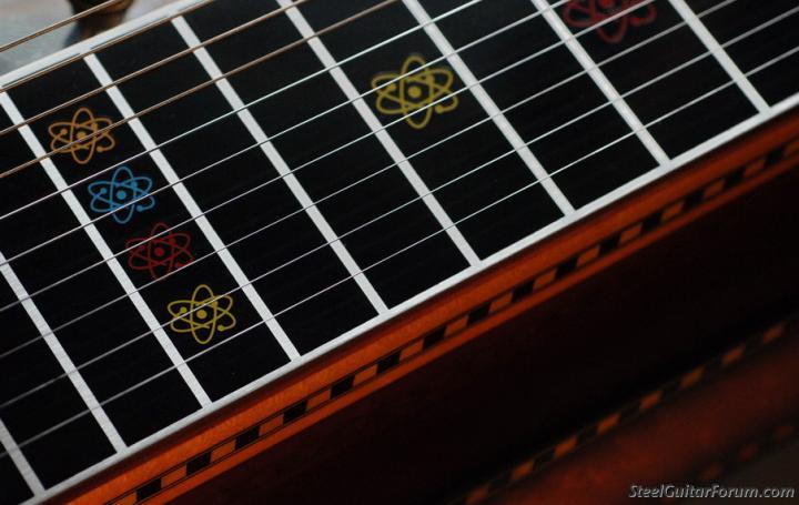 And Also The Atom Found On Emmons Fretboards