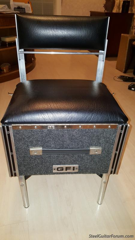For Sale Gfi Pedal Steel Seat 150 Shipping The Steel Guitar Forum
