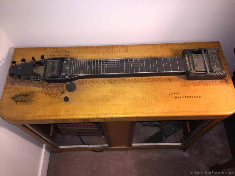 early gibson electraharp on cl the steel guitar forum. Black Bedroom Furniture Sets. Home Design Ideas