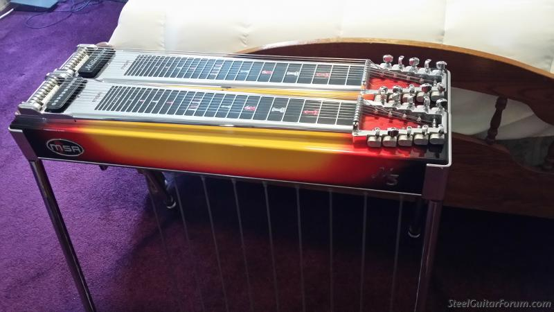 pedal steel guitar for sale the steel guitar forum. Black Bedroom Furniture Sets. Home Design Ideas