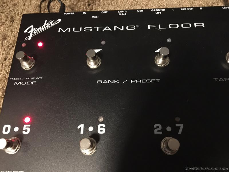 Fender Mustang Floor Effects Processor- SOLD  Locally : The
