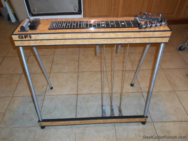 gfi sm 10 pedal steel guitar the steel guitar forum. Black Bedroom Furniture Sets. Home Design Ideas