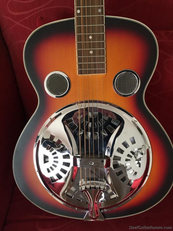 Trinity River Rsn1as Mudslide Resonator Guitar Guitars & Basses