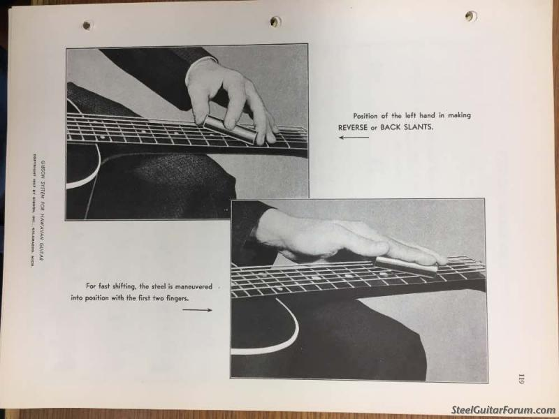 The Steel Guitar Forum View Topic The Advent Of The Reverse Slant