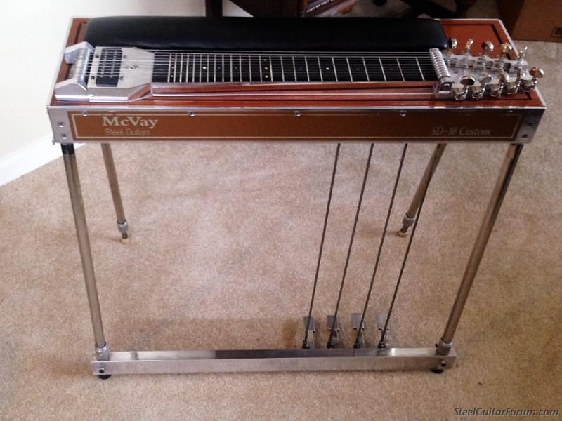 the steel guitar forum view topic mcvay custom sd 10 sold off another site. Black Bedroom Furniture Sets. Home Design Ideas