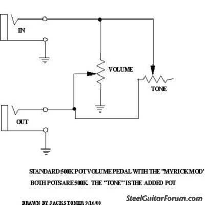 goodrich 122 volume pedal the steel guitar forum Aircraft Wiring Diagrams