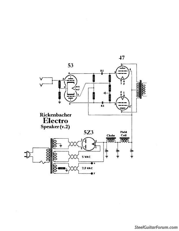 Rickenbacker Amp Schematic - Basic Wiring Diagram •