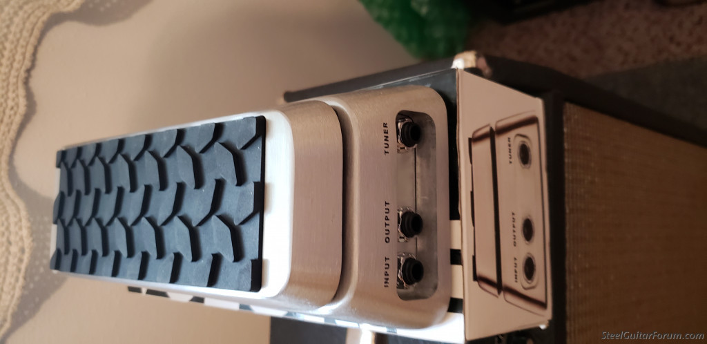 steel guitar ampliier volume pedal for sale the steel guitar forum. Black Bedroom Furniture Sets. Home Design Ideas