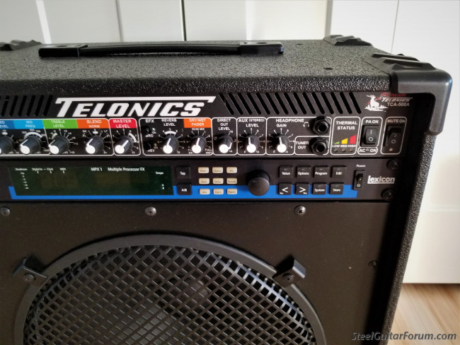 telonics tca 500a combo amp sold the steel guitar forum. Black Bedroom Furniture Sets. Home Design Ideas