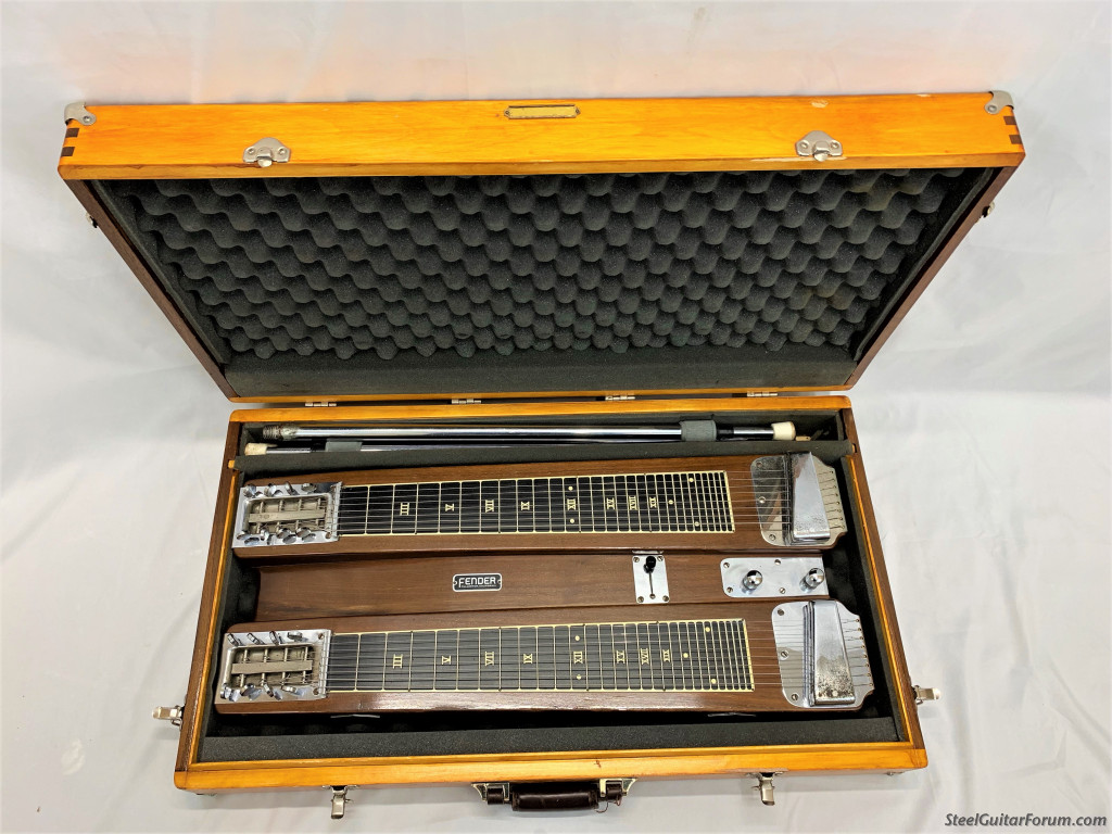 1950 39 s dual pro for sale with custom wood case 1075 the steel guitar forum. Black Bedroom Furniture Sets. Home Design Ideas