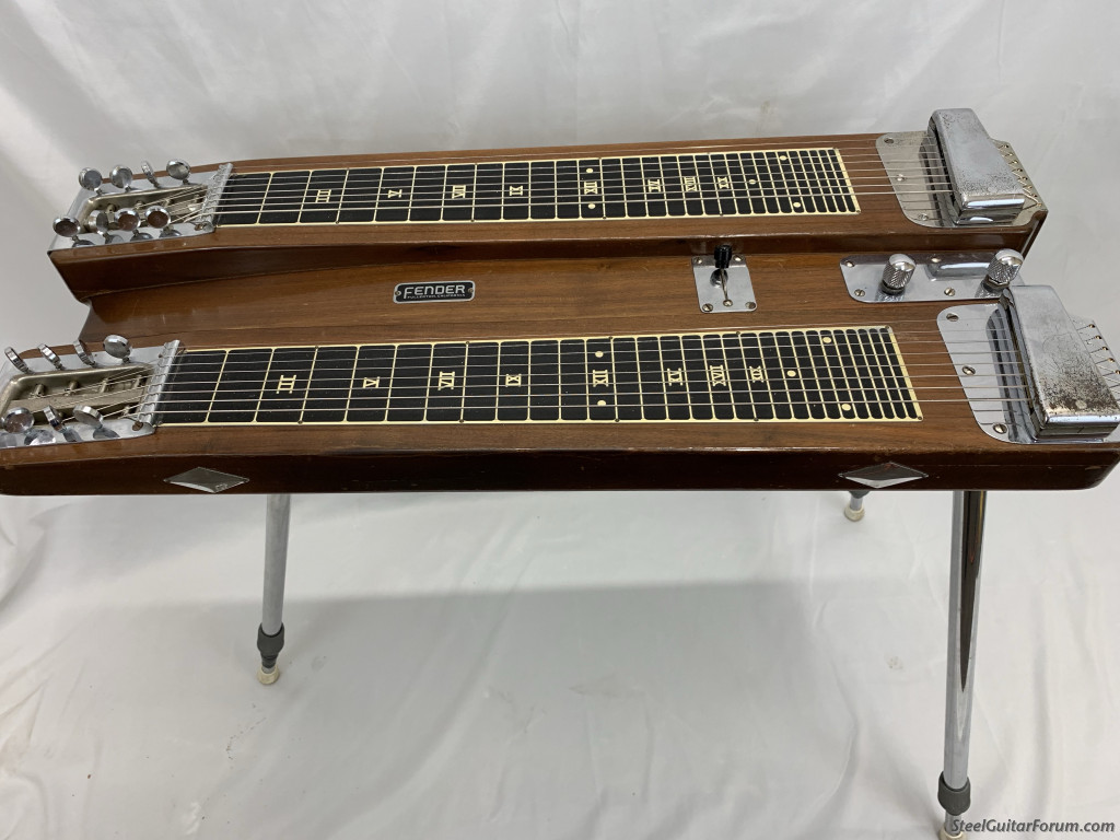 1950 39 s dual pro for sale with custom wood case reduced 975 the steel guitar forum. Black Bedroom Furniture Sets. Home Design Ideas