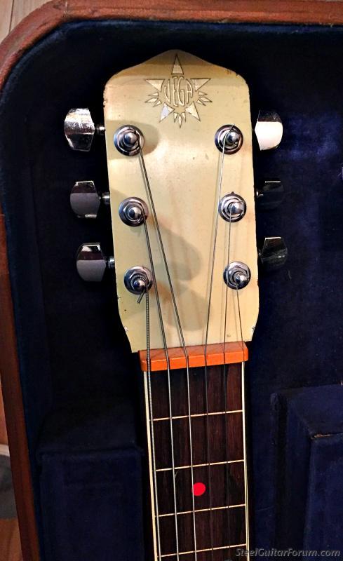 938-39 Vega Triumphal **SOLD** : The Steel Guitar Forum