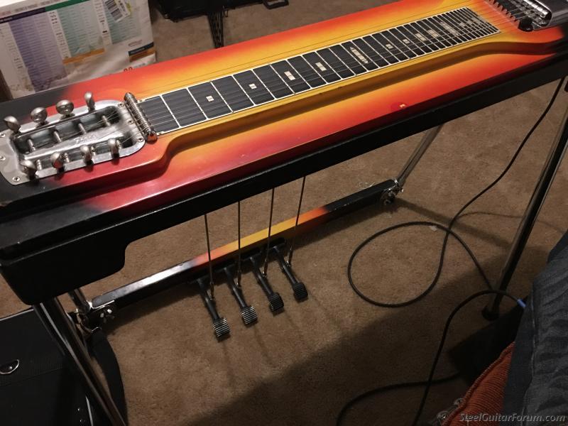 1963 64 fender 400 pedal steel the steel guitar forum. Black Bedroom Furniture Sets. Home Design Ideas