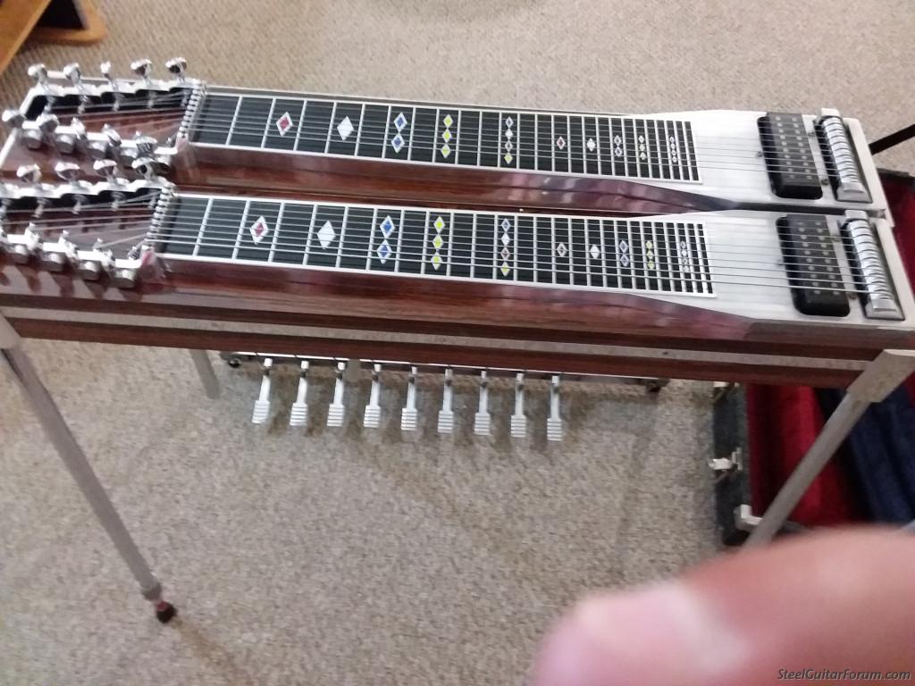for sale zumsteel double neck pedal steel case the steel guitar forum. Black Bedroom Furniture Sets. Home Design Ideas