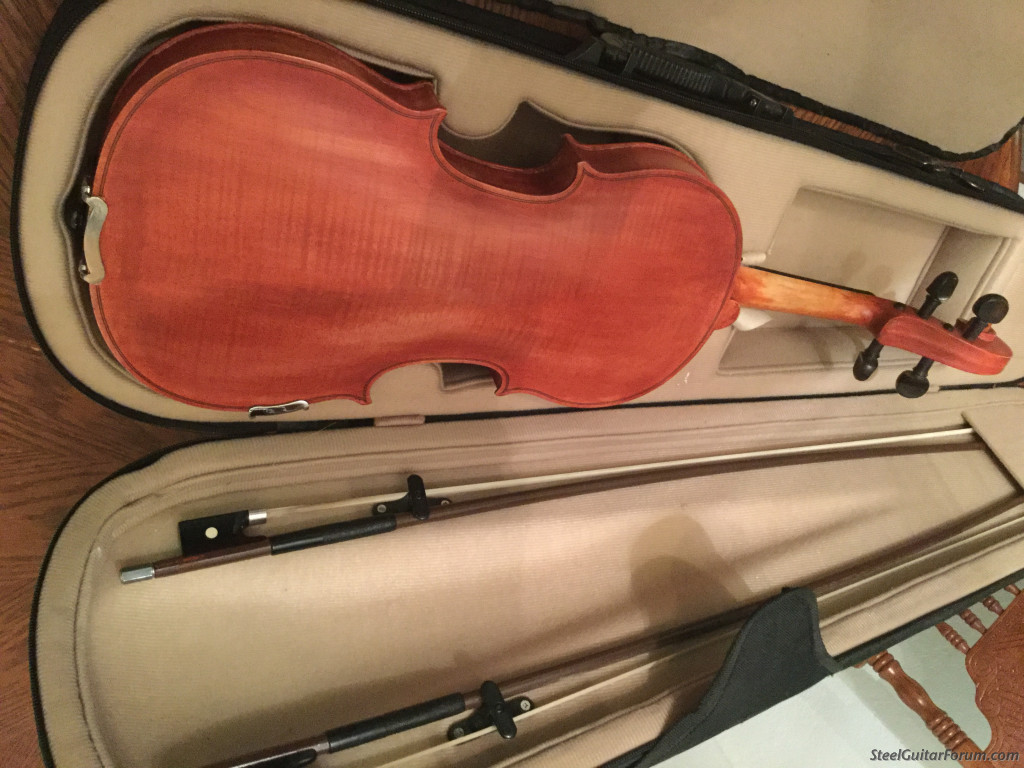 really nice sounding fiddle and nice case for sale the steel guitar forum. Black Bedroom Furniture Sets. Home Design Ideas