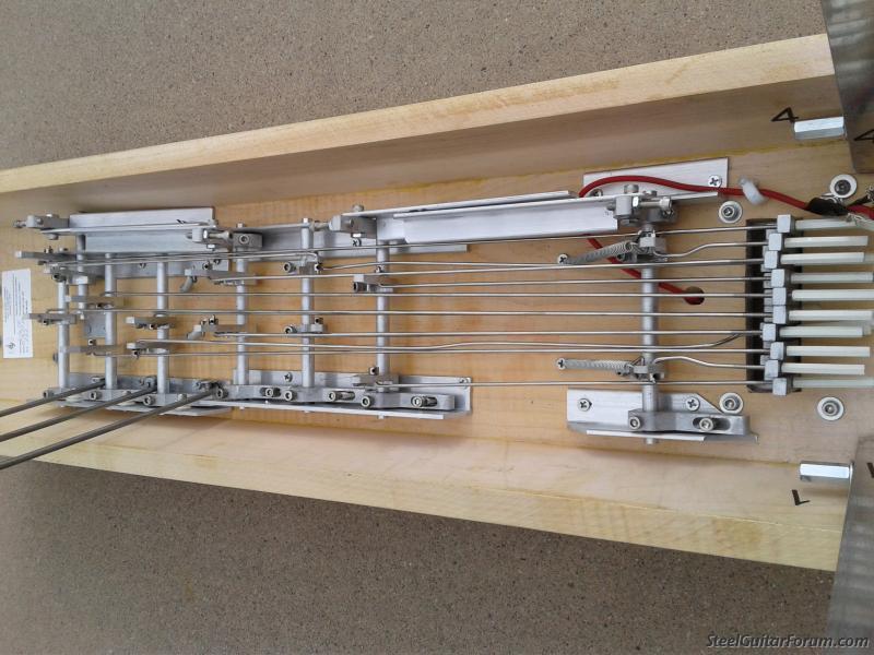 hudson 10 string 3x4 pedal steel with case the steel guitar forum. Black Bedroom Furniture Sets. Home Design Ideas