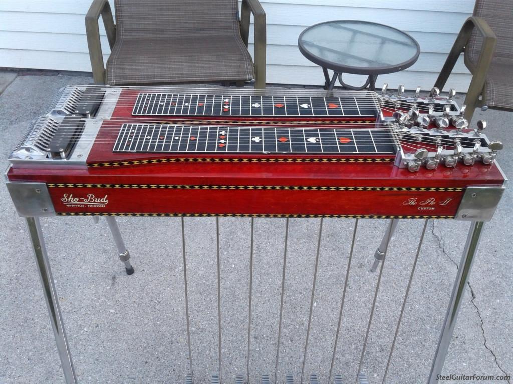 f s 1980 shobud pro 11 sold the steel guitar forum. Black Bedroom Furniture Sets. Home Design Ideas