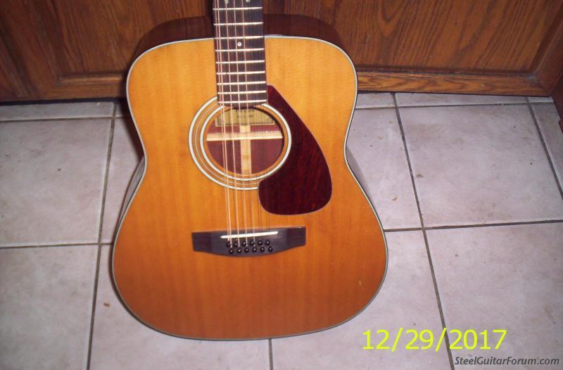 vintage yamaha 12 string acoustic guitar cheap the steel guitar forum. Black Bedroom Furniture Sets. Home Design Ideas