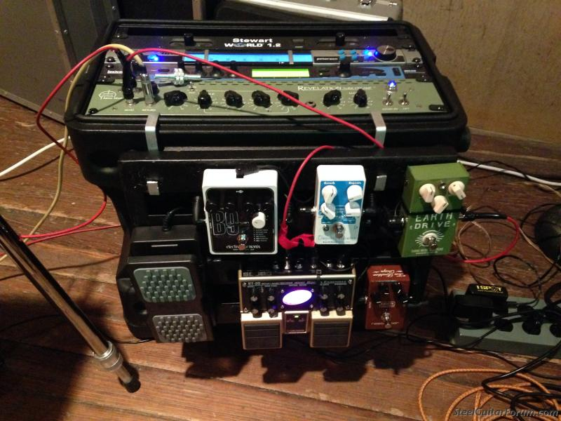 any ideas for a practical pedalboard design for pedal steel the steel guitar forum. Black Bedroom Furniture Sets. Home Design Ideas